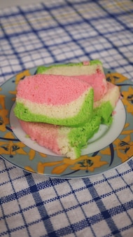 Радуга пандан торт