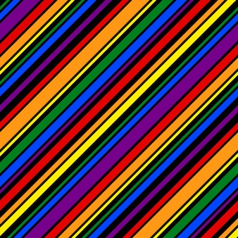 Rainbow pattern striped line geometric for design