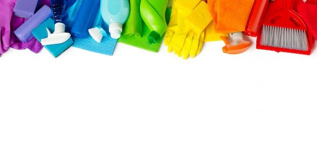 Радуга для яркой весенней уборки в доме.