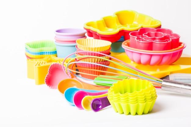 Силиконовая кондитерская посуда rainbow