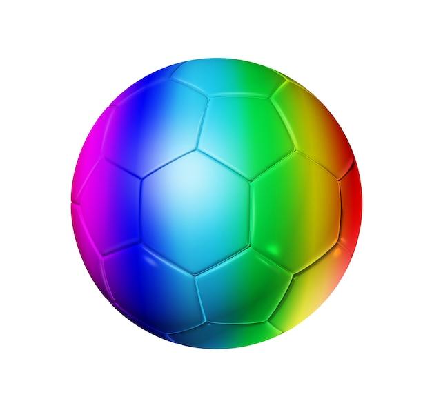 レインボーサッカーサッカーボール