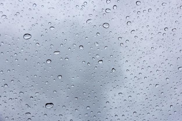 Raindrop on windscreen background