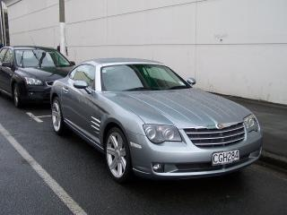 Rained drenched chrysler crossfire