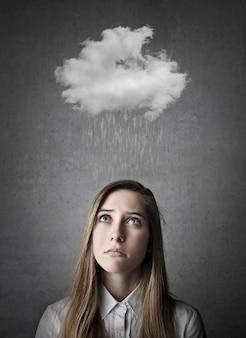 Rainy sad day