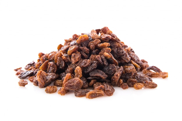 Raisins dried