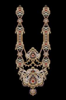 Rajasthani traditional jewelry ramnavami necklace