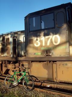 Raleigh 2100グリーンマウンテンバイクがトンだ