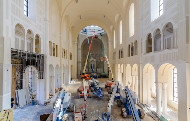 Raleigh north carolina usa construction of holy name of jesus cathedral