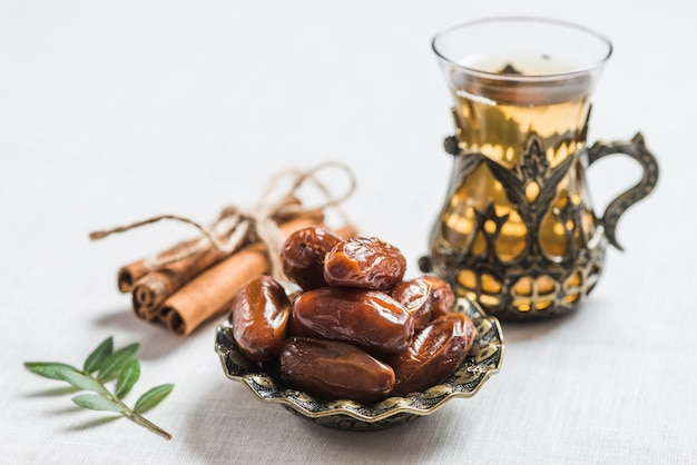 Ramadan concept with dates