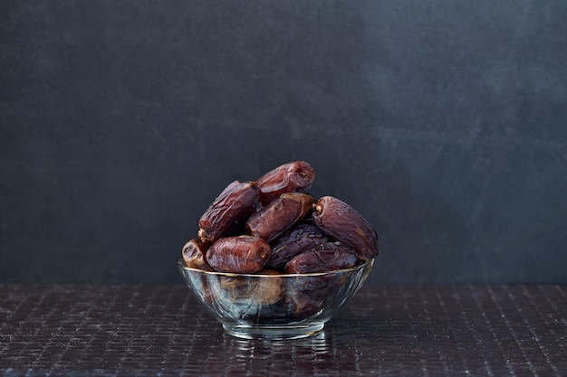 Ramadan kareem dried date palm fruits