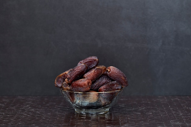 Ramadan kareem dried date palm fruits