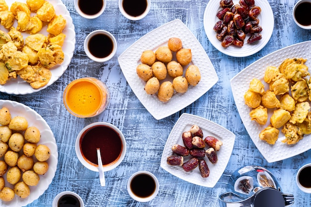 Ramadhan breaking fast theme swahili style