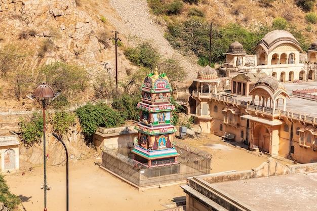 Ramanuja acharya mandir temple in jaipur, india .