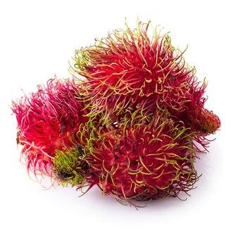Rambutan sweet fruit isolated