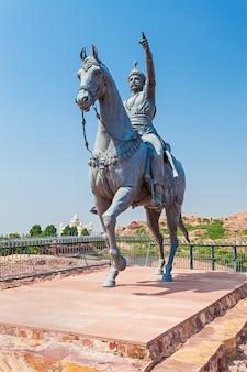 Rao jodha statue