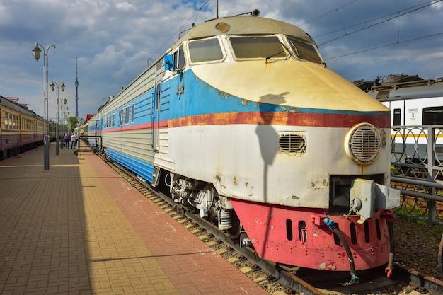 리가 역 박물관의 희귀 열차