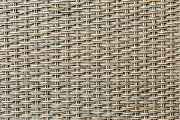 クローズアップテクスチャ背景の籐織り