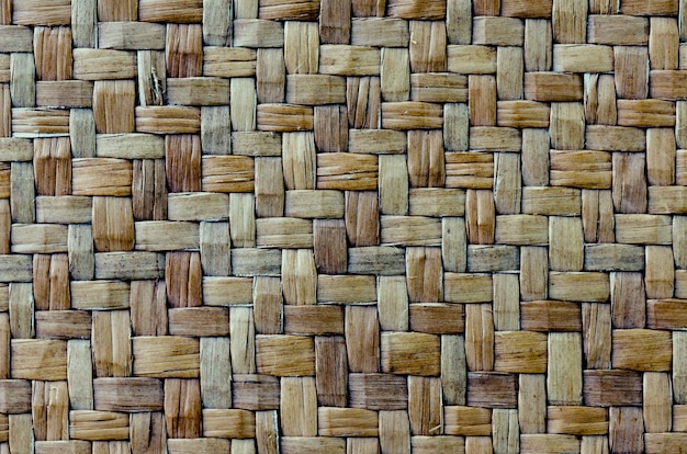 Rattan wicker texture with handmade traditional and dry branches,wicker textured background.
