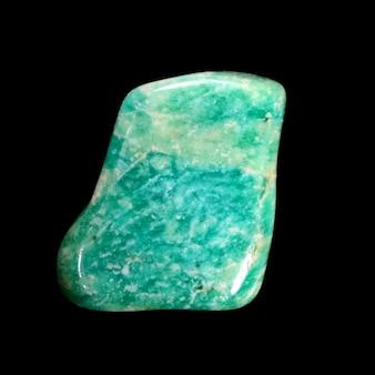 Raw amazonite stone