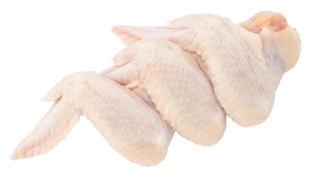 Сырые куриные крылышки