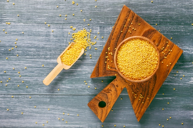 Raw organic healthy millet