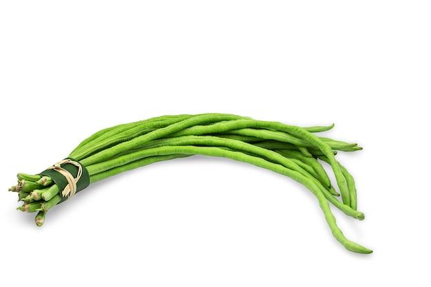 素朴なバンドルで生の有機長豆