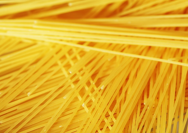 Raw pasta as whole background