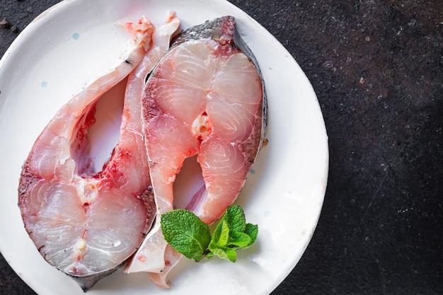 生白身魚ステーキハクレンシーフード健康食品ダイエットペスカタリアン