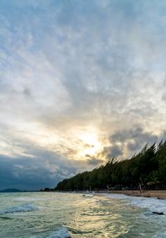 Rayong beach in thailand