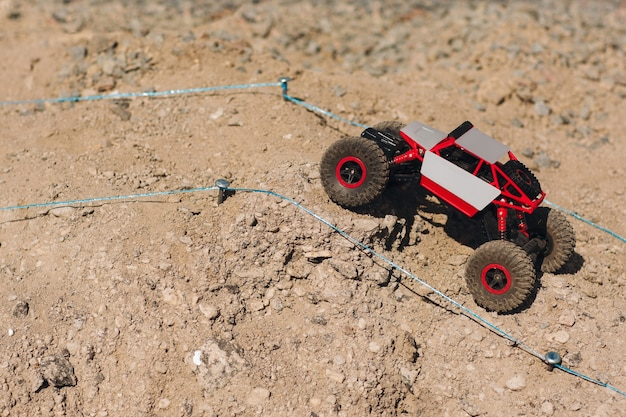 Rc toy suv roading rally off road track