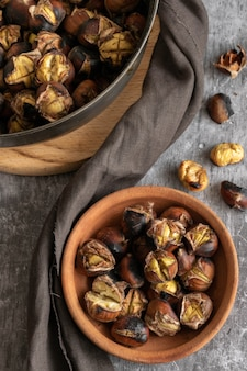 Ready to eat roasted chestnuts