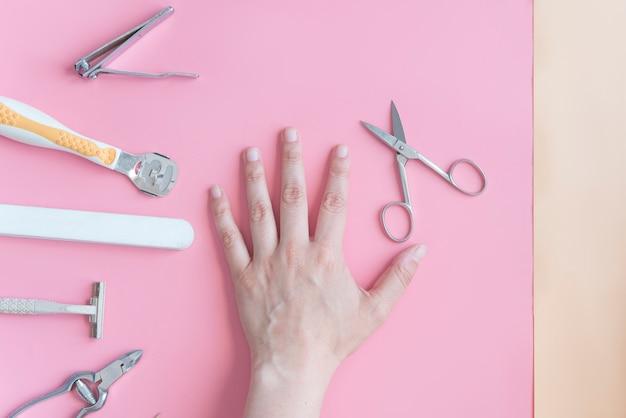 Real cutting вид сверху ногтя