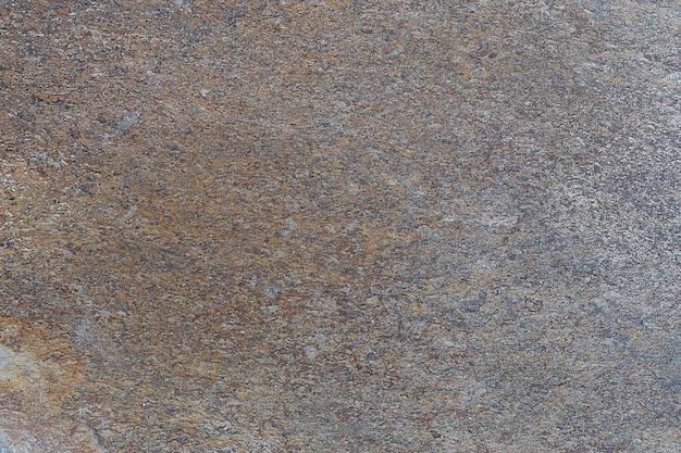 背景の実際の暗い灰色の錆石のテクスチャ