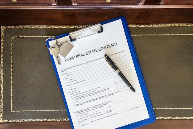Бланк договора купли-продажи недвижимости