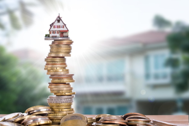 Real estate growth up price for investment your property.