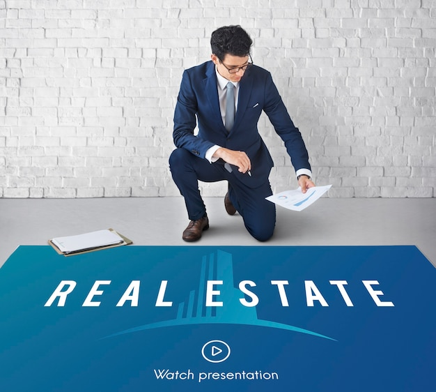Real estate property purchase concept