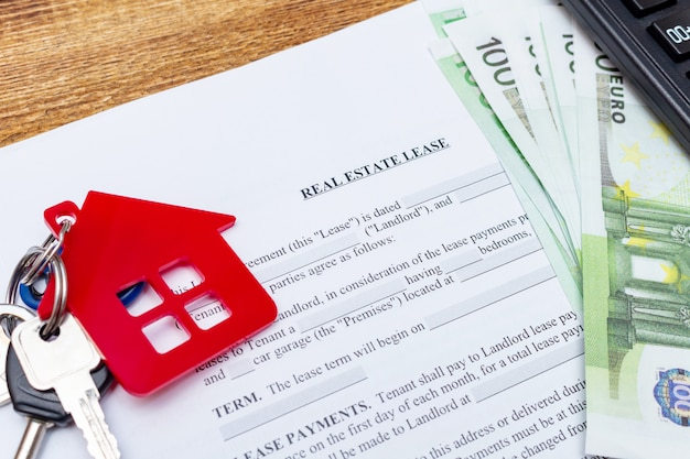 Real estate purchase buying sale contract