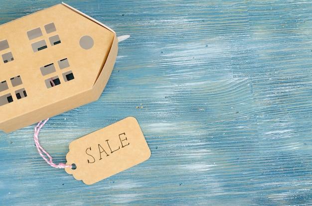 부동산 판매 개념, 주거용 건물의 종이 모델