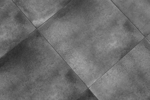 Real  gray floor tile pattern for background. pavement outdoors in shades of grey