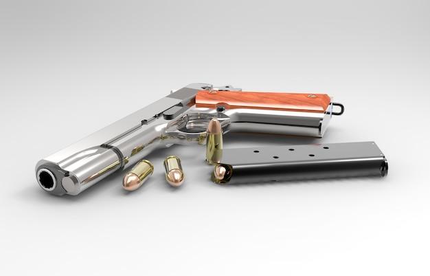 Реалистичный рендеринг оружия и пуль