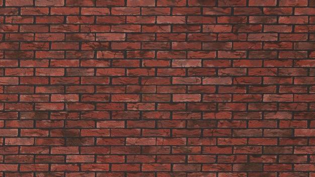 현실적인 낡은 붉은 벽돌 배경