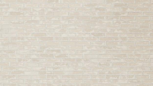 현실적인 낡은 흰색 벽돌 배경