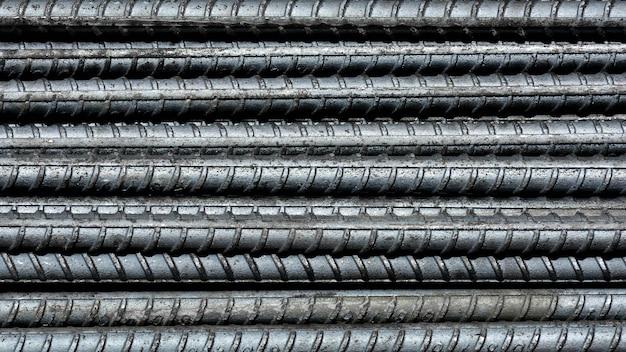 Rebar steel for construction - pattern