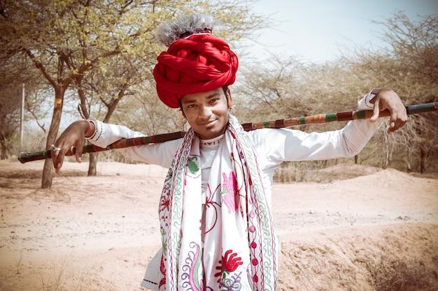 Rebari、インド、ラジャスタン州の農村部の人々