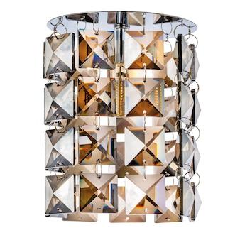 半透明のミラーガラス製のペンダント付き埋め込み型ledランプ