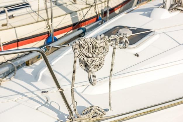 Recreational yacht detail