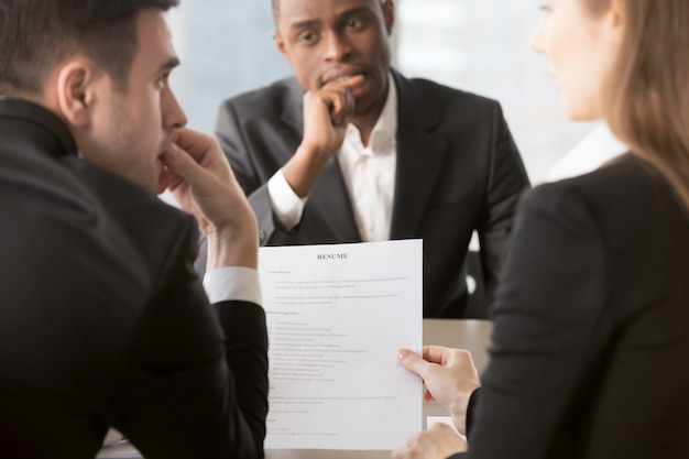 Recruiters doubting in truthfulness of resume