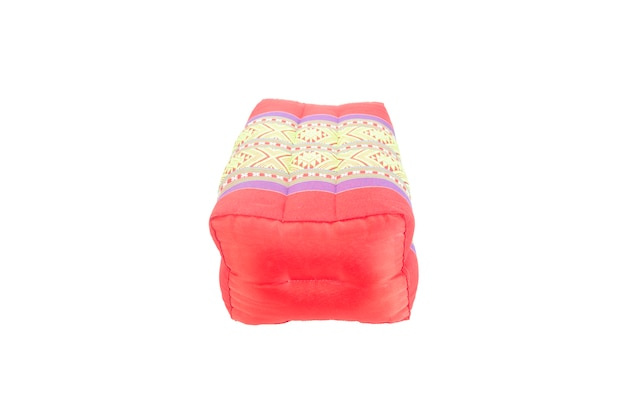 Rectangle pillow thai style with clipping path