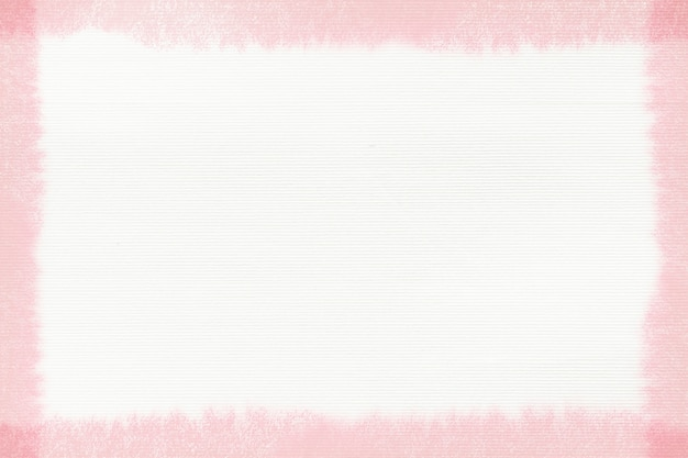 Прямоугольная розовая рамка мазка кистью