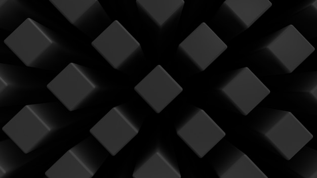 Rectangular bars. dark style. decorative background. top view